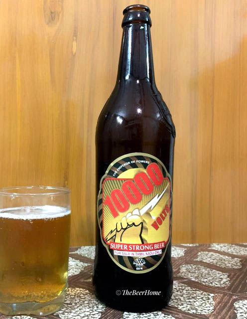 10000 VOLTS PREMIUM STRONG BEER