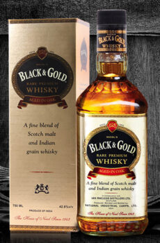 1943 BLACK & GOLD RARE PREMIUM WHISKY