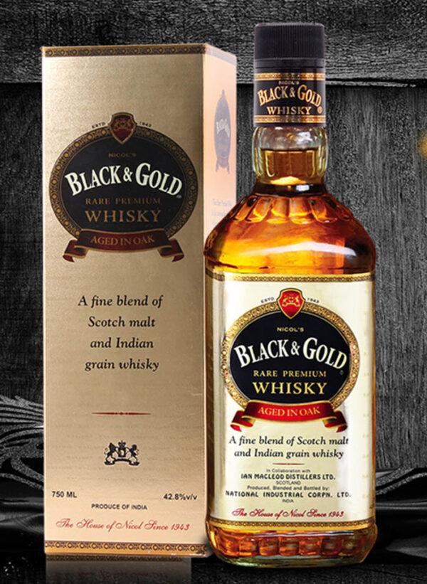 1943 BLACK & GOLD RARE PREMIUM WHISKY