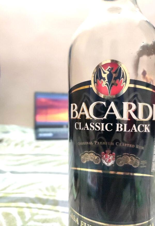 BACARDI CLASSIC BLACK ORIGINAL PREMIUM CRAFTED RUM