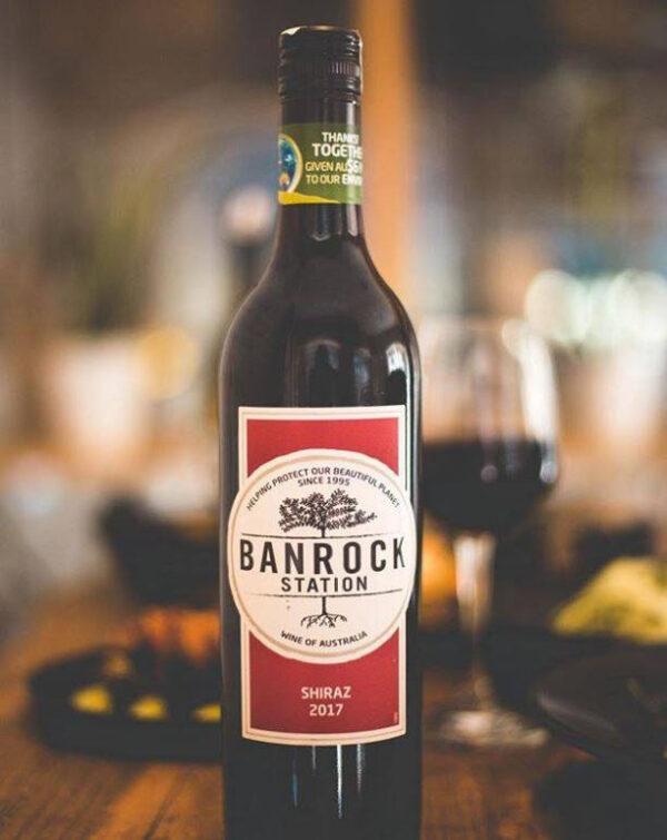 BANROCK STATION SHIRAZ RED WINE