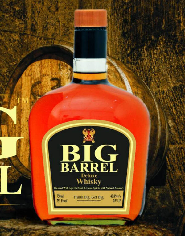 BIG BARREL DELUXE WHISKY