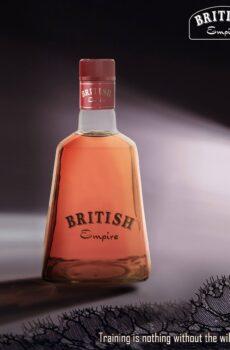BRITISH EMPIRE PURE GRAPE BRANDY