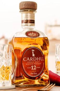 CARDHU SINGLE MALT SCOTCH WHISKY 12 YEARS OLD