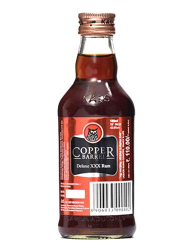 COPPER BARREL XXX RUM