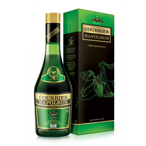 COURRIER NAPOLEON CRAFTED FRENCH BRANDY GREEN