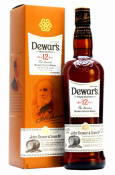 DEWAR'S AGED 12 YEARS BLENDED SCOTCH WHISKY