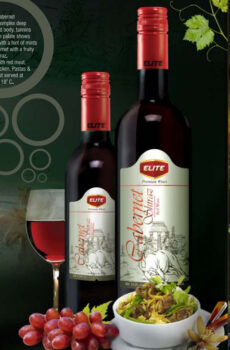 ELITE CABERNET SHIRAZ RED WINE