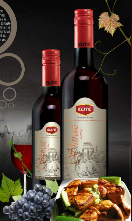 ELITE SHIRAZ RED WINE
