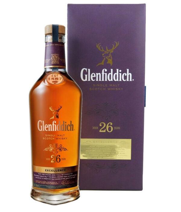 GLENFIDDICH SINGLE MALT SCOTCH WHISKY 26 YO