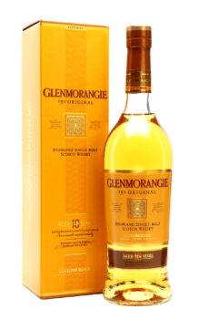 GLENMORANGIE 10YEARS OLD THE ORIGINAL HIGHLAND SINGLE MALT SCOTCH WHISKY