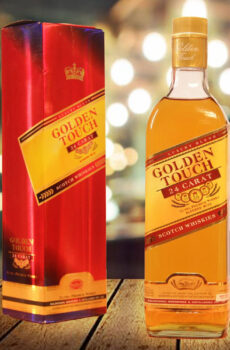 GOLDEN TOUCH 24 CARAT ULTRA PREMIUM INDIAN WHISKY WITH SCOTCH