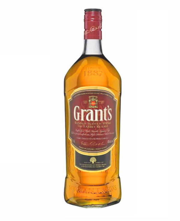 GRANT'S BLENDED SCOTCH WHISKY THE FAMILY RESERVE