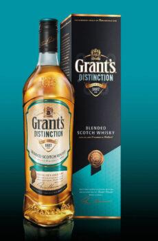 GRANTS DISTINCTION BLENDED SCOTCH WHISKY