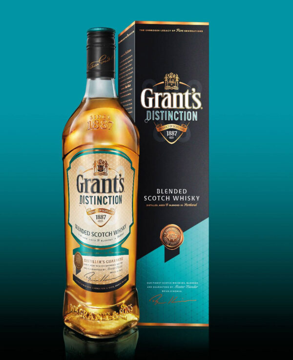 GRANTS DISTINCTION BLENDED SCOTCH WHISKY