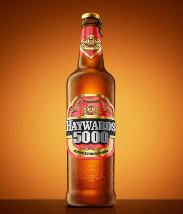 HAYWARDS 5000 GOLD PREMIUM STRONG BEER
