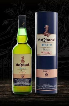 MAQINTOSH BLUE RESERVE WHISKY