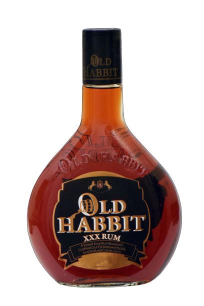 OLD HABBIT XXX RUM