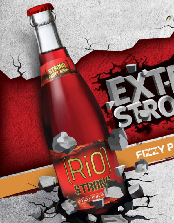 RIO STRONG FIZZY PORT WINE