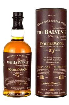 THE BALVENIE DOUBLEWOOD AGED 17 YRS SINGLE MALT WHISKY