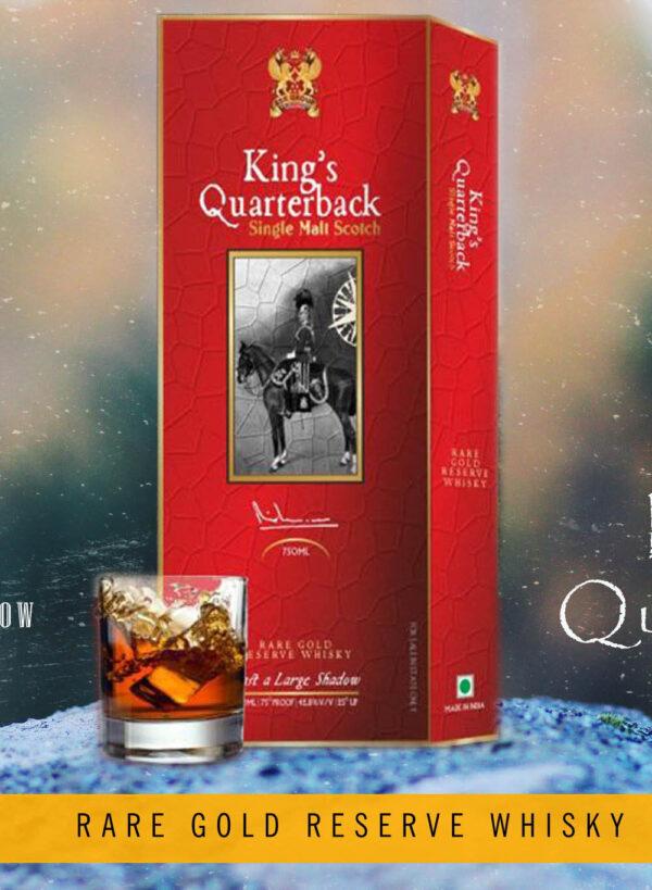 THE KINGS QUARTERBACK WHISKY