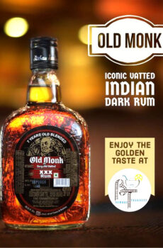 7 YEARS OLD BLENDED OLD MONK VERY OLD VATTED SPECIAL XXX RUM